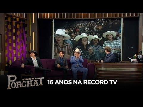 Chitãozinho & Xororó falam sobre importância da Record TV para a música sertaneja