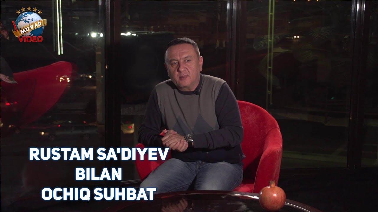 Rustam Sa'diyev bilan o'zbek kinolari haqida ochiq suhbat