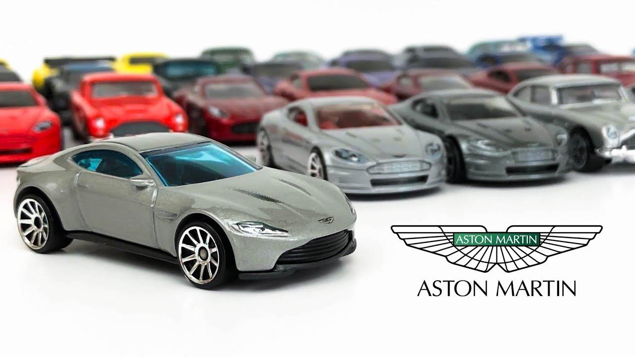 Aston Martin Hot Wheels Showcase Youtube