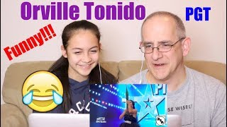 Orville Tonido's Funny Audition on Pilipinas Got Talent | REACTION