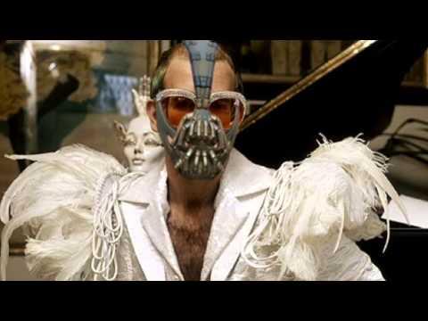 Bane sings Elton John songs