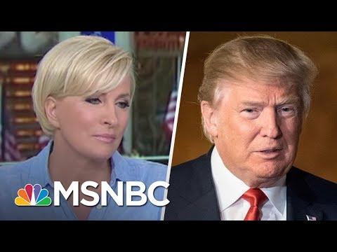 Mika Brzezinski Responds To President Donald Trump's Tweets About Her | Morning Joe | MSNBC