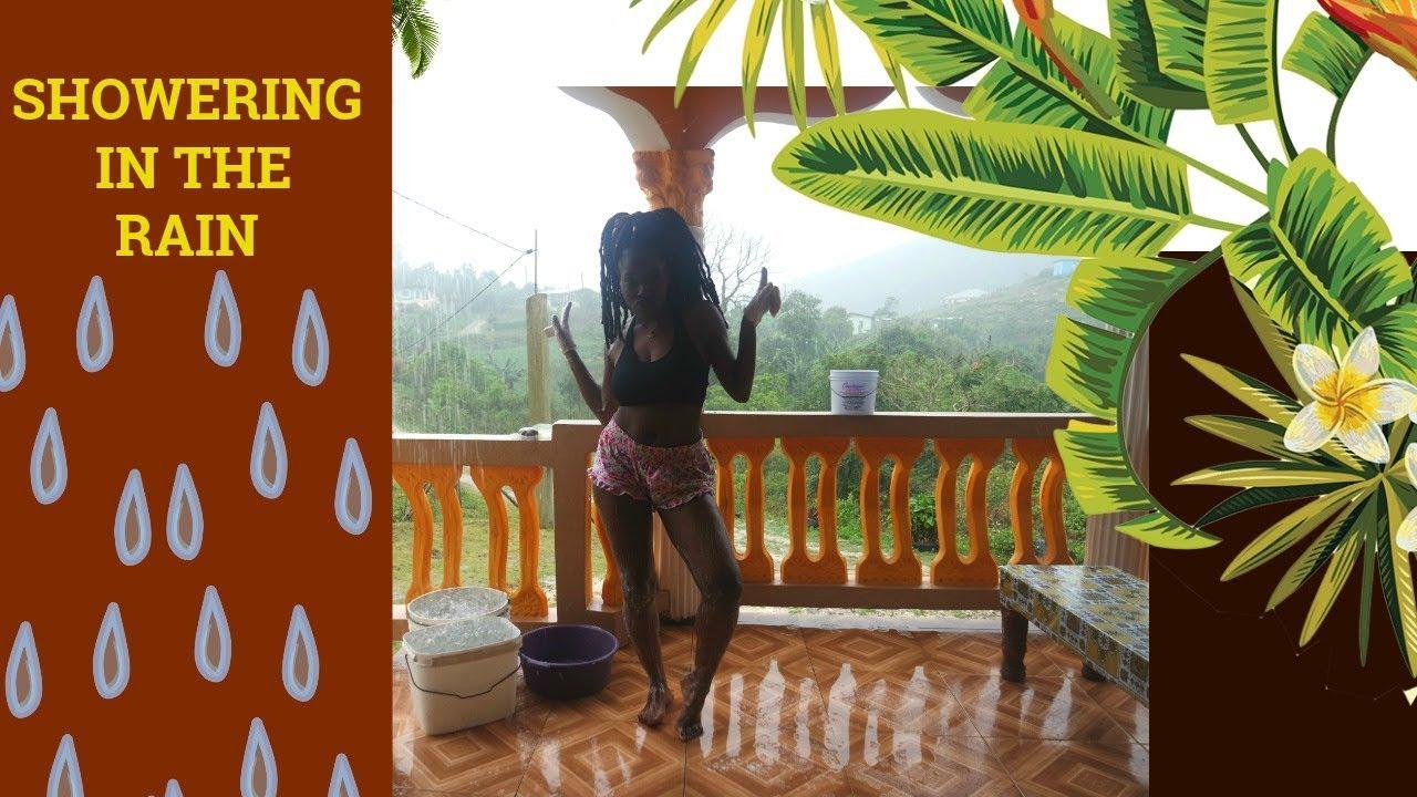 Showering in the Rain | JAMAICA  2017 VLOGS 4 | SR