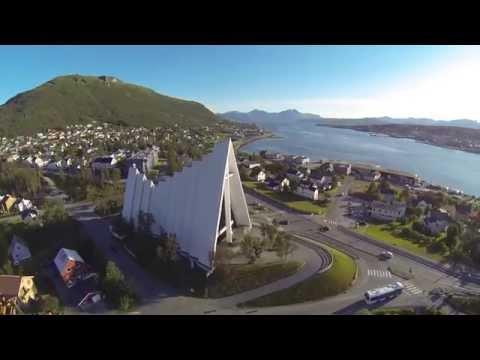 DJI Phantom 2 - Tromsø fra lufta