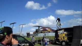 3 martyn ashton animal bike tour freestyle parkour motogp 2012 silverstone 15 17 june