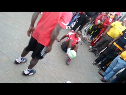 South Africa's finest talent (street soccer)