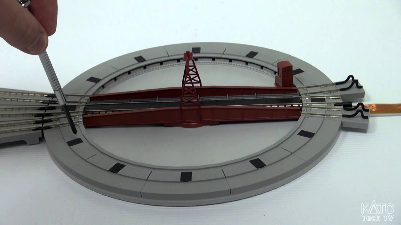 [Kato USA Tech Corner]   Product Preview! New N Scale Kato Turntable  (February 2014)   YouTube