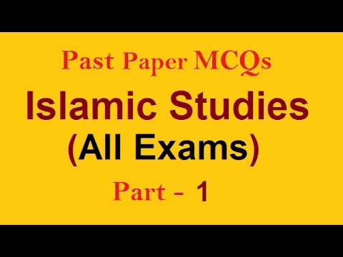 Solved Question Educational Videos | Islamic Studies MCQs PMS CSS FPSC PPSC AD NTS PTS and all Exams