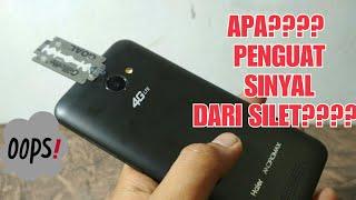 IDE KREATIF DARI SILET | MEMBUAT PENGUAT SINYAL HP - Life Hacks Indonesia