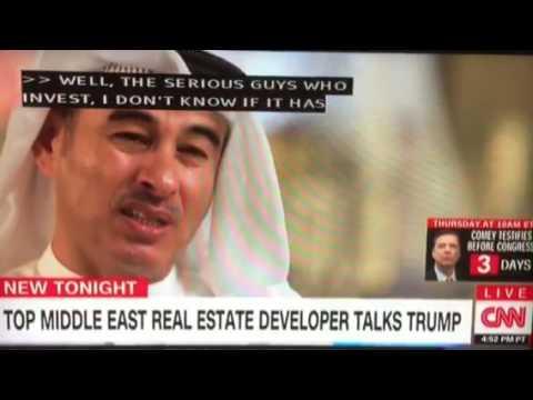 Erin Burnett in Dubai re Trump