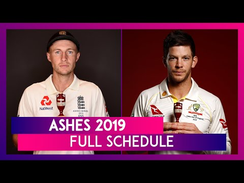 Ashes 2019 Full Schedule: England Vs Australia Test Series Fixtures, Match Timings & Venue Details