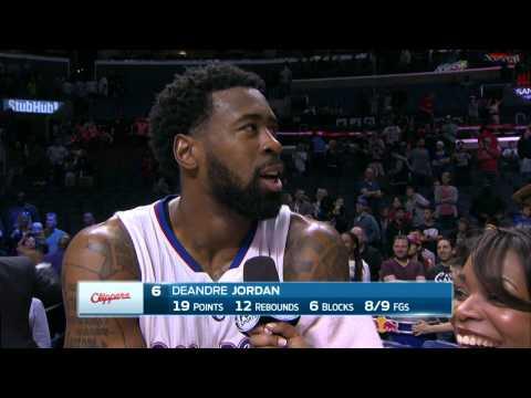 DeAndre Jordan Can't Stay Focused