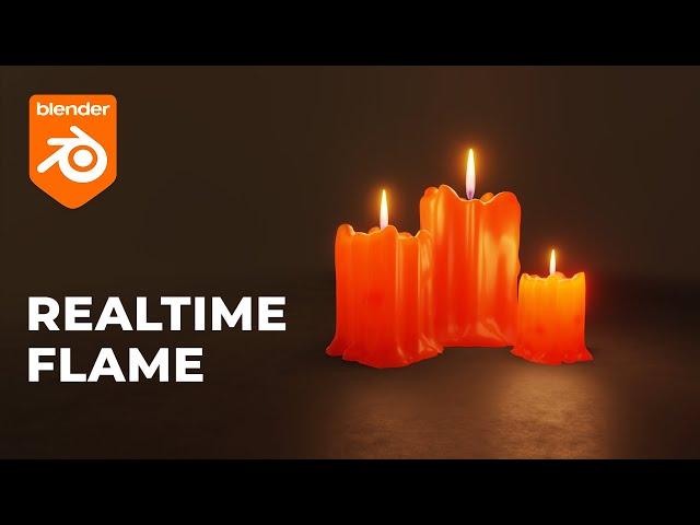 Интерактивная свечка в Blender