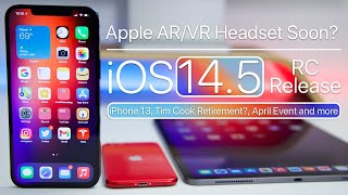 Apple Glass or Headset soon, iPhone 13, iOS 14.5 RC Release, iMac and more