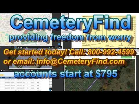 CemeteryFind 795 video