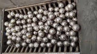1000 Steel Ball vs Crusher Machine - Amazing Dangerous Machines Destroy Everything