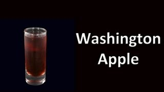 Washington Apple  Cocktail Drink Shot Recipe