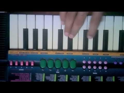Mamachi Porgi Line Maray Lagli Marathi Song Piano By Nikhil