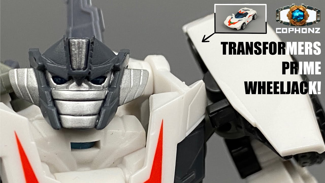 TF Prime Wheeljack No Words Review by cophonz