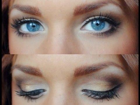 eye makeup for blue eyes  youtube