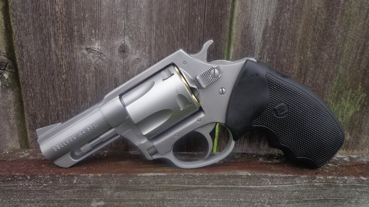 bulldog 44 spl shooting the charter arms bulldog revolver in 44 special 7506