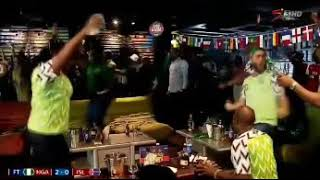 Super Eagles fans react as Musa scores for Nigeria against Iceland