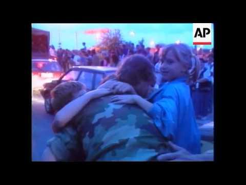 YUGOSLAVIA: ARMY RETURNS FROM KOSOVO