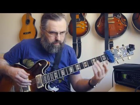Medium Bb Blues - Solo guitar