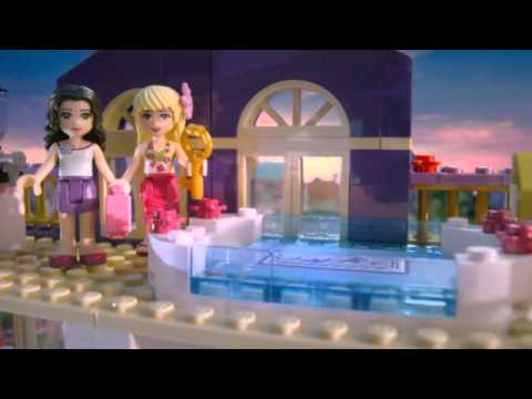Lego Friends Heartlake Grand Hotel Building Kit 41101 Youtube