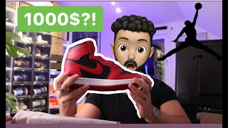 ARE THESE JORDAN 1 85 VARSITY RED SNEAKERS WORTH THE $1000?!