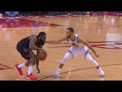 James Harden Shows Stephen Curry He Can't Be Guarded!