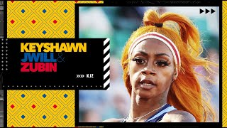 Reacting to Sha'Carri Richardson being left off the U.S. Olympic relay team