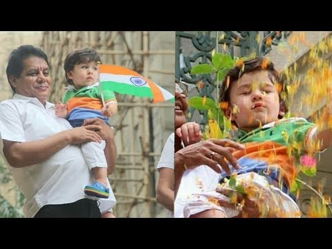 Kareena 's son Taimur Ali Khan wishes you all A happy independende Day