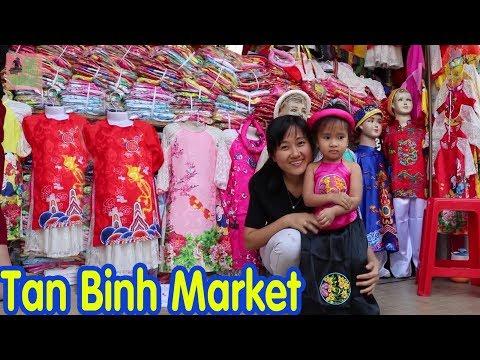 Tan Binh Market, Ho Chi Minh City, Vietnam Travel Local Market 2018
