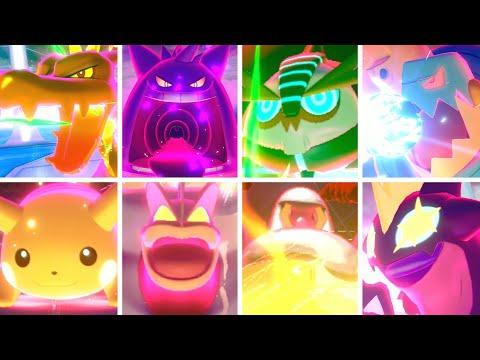Pokémon Sword & Shield - All Gigantamax Moves