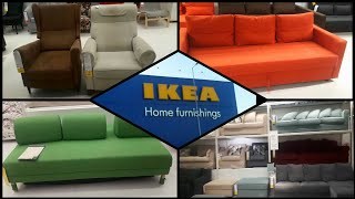 Ikea Furniture Sofas Couhes Shopping With Price Details - Store Walk Through|shop With Me#laikras Tv