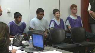 Teens charged, face judge in Albuquerque man's murder