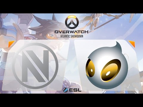 Overwatch - EnVyUs vs. Dignitas - Overwatch Atlantic Showdown - Gamescom Finals - Group A