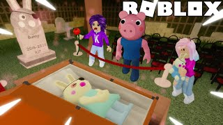 Going to BUNNY'S FUNERAL (Sad 😢) / ROBLOX
