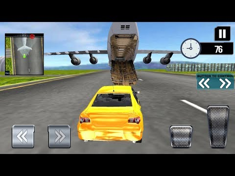 Modern Car Transporter Plane Android Gameplay