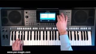 PSR-Magic Classical Organ Showcase Demo PSR S970, PSR S770, PSR S950, PSR S750