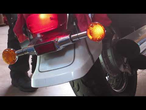 '03 Suzuki Volusia 800 – rear turn signal stalk replacement