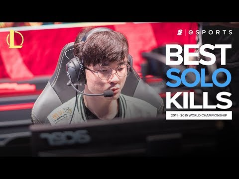 The BEST Solo Kills from every World Championships (2011-2016)