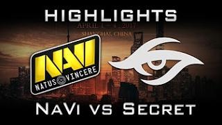 Na`Vi vs Team Secret, DAC 2017, game 2, Лучшая игра, Best game, Русские комментаторы