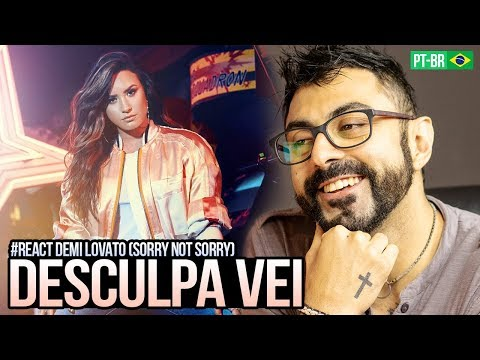 REAGINDO a Demi Lovato - Sorry not Sorry