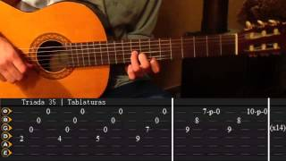 Como tocar Hotel California unplugged Tutorial Completo Tabs || Triada35