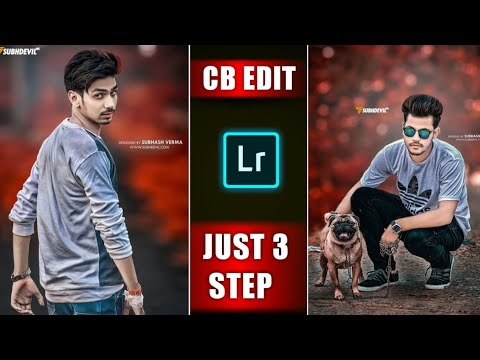 CB Editing in Lightroom 2019 Tricks   How to Edit Red Tone CB Editing in Lightroom Mobile