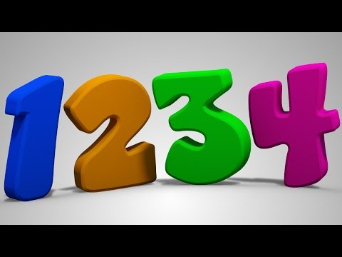 Numbers Song | Learn Numbers | Counting 123 | Nursery Rhymes | Kids Tv Cartoon Videos