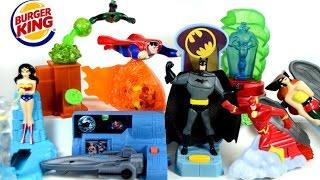 2016 BURGER KING BATMAN V SUPERMAN MOVIE DC COMICS SUPER FRIENDS SET KIDS MEAL TOYS COLLECTION