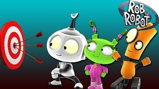 Watch The Game Show | Rob The Robot Compilation Video | Funny Cartoons for Kids on KidsLaugh
